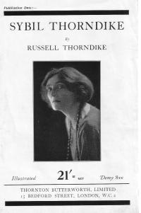 Sybil Thorndike by Russell Thorndike